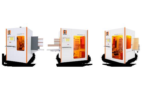 Centro de mecanizado CNC de la serie EVOLUTION: Mecanizado vertical completo en formato compacto