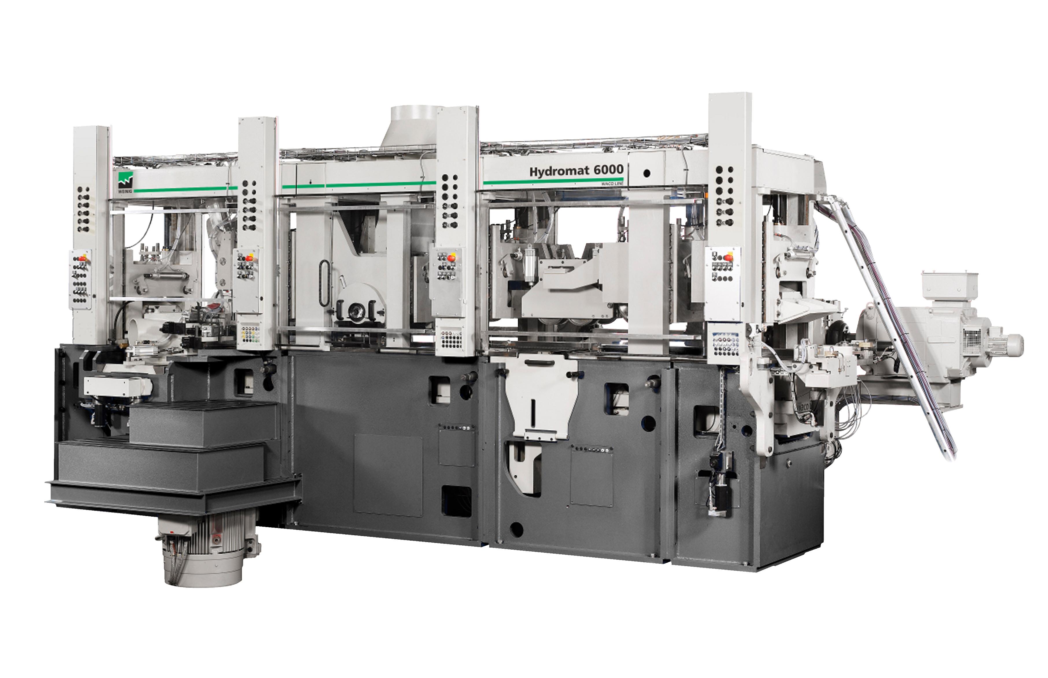 Cepilladora y moldurera de la Serie WEINIG Hydromat: la extraordinaria combinación de estabilidad y flexibilidad garantiza superficies de excelente calidad y una alta capacidad de producción